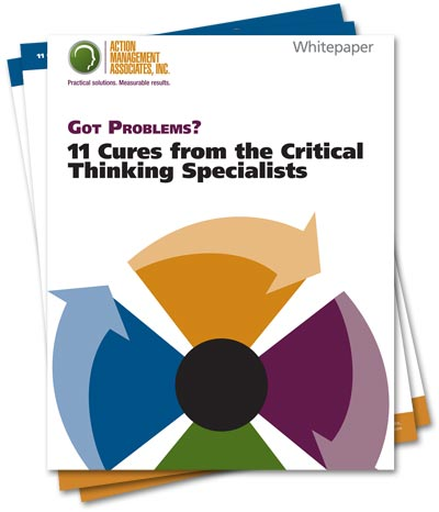 Critical Thinking Specialist Whitepaper